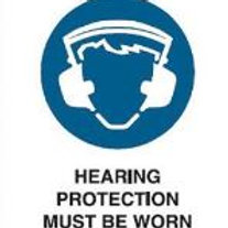 Hearing Protection Must Be Worn
