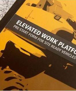 Pre-Start—Elevated Work Platform