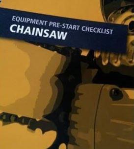 Pre-Start—Chainsaw