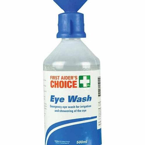 FAC Saline Eye Rinse w/ Eye Cap 500ml