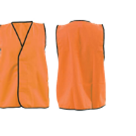 Safety Vests - Day Use Orange - No Tape