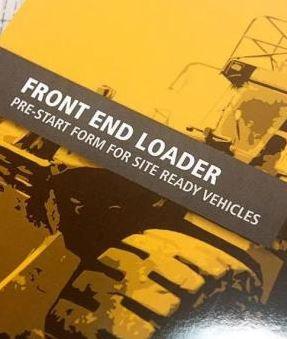 Pre-Start—Front End Loader