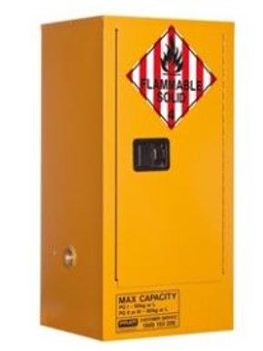 Class 4 Dangerous Goods Storage Cabinet 60L 1 Door, 2 Shelf