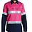 Thumbnail: Womens 3M Taped Two Tone Hi Vis Cool Lightweight Shirt - Long Sleeve