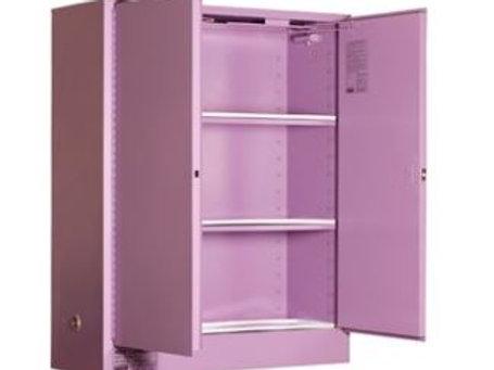 Corrosive Storage Cabinet 350L 2 Door, 3 Shelf