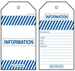 Information Tag – STA010