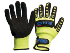 ONE Glove -Nitrile Foam/Cut Resistant Liner Rubber Back