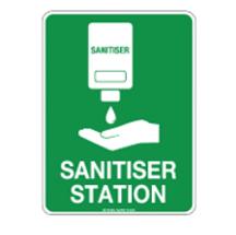 Sanitiser Station Poly