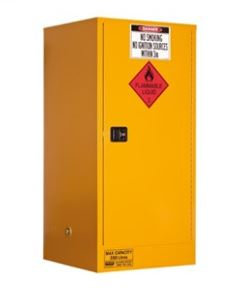 Flammable Storage Cabinet 350L 1 Door, 3 Shelf