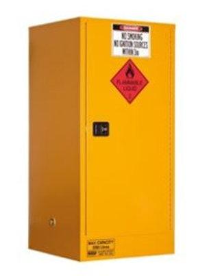 Flammable Storage Cabinet 350L 1 Door, 3 Shelf