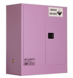 Corrosive Storage Cabinet 160L 2 Door, 2 Shelf