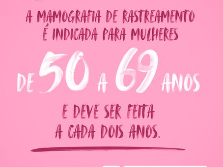 No Outubro Rosa, importância da prevenção e detecção precoce do câncer de mama