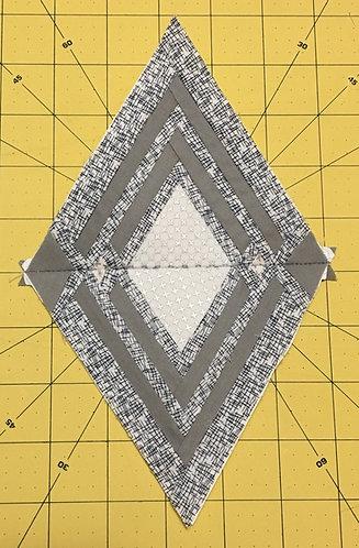 Geometric Diamond 2 Foundation Paper Piecing Pattern