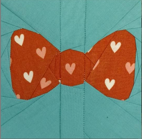 Bow Tie Foundation Paper Piecing Pattern