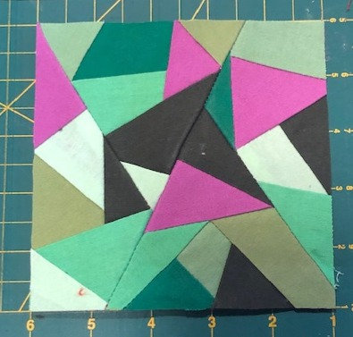 Improvisation Block 1 Foundation Paper Piecing Pattern