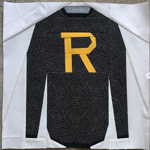 Weasley Sweater Foundation Paper Piecing Pattern