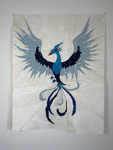 Phoenix Bird Foundation Paper Piecing Pattern