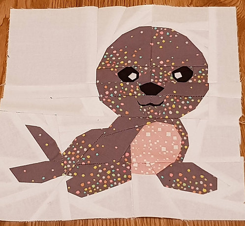 Seal Foundation Paper Piecing Pattern