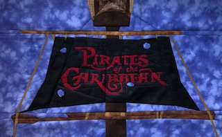 Pirates of the Caribbean Disneyland Ride Foundation Paper Piecing Pattern