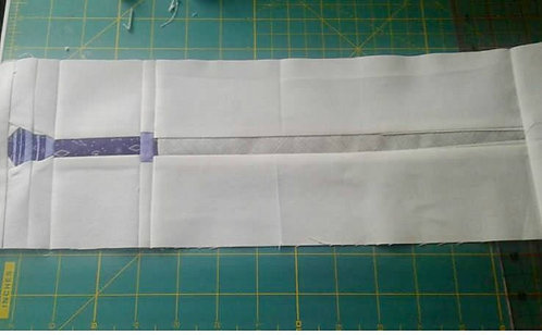 Pomfrey's Wand Foundation Paper Piecing Pattern