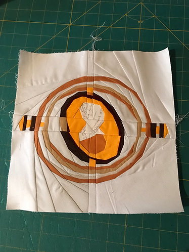 Time Turner (No Chain) Small Foundation Paper Piecing Pattern