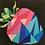 Thumbnail: Geometric Strawberry Foundation Paper Piecing Pattern