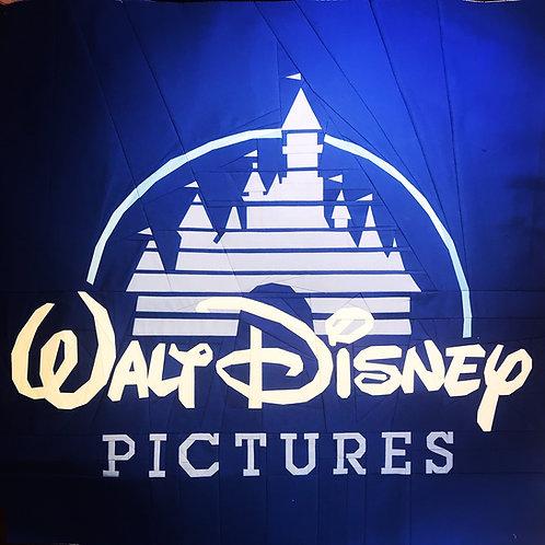 Walt Disney Pictures Logo Foundation Paper Piecing Pattern