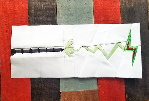 Wand with Magic Foundation Paper Piecing Pattern