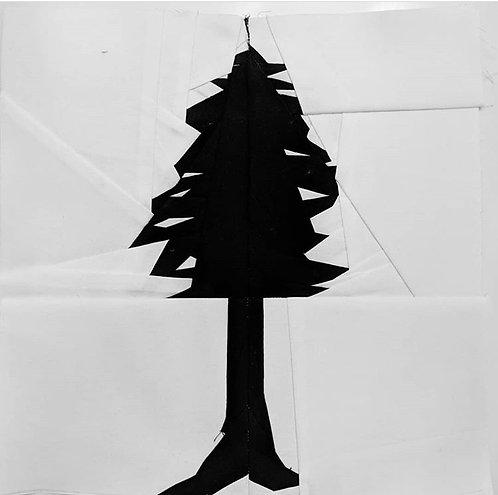 Redwood Tree Foundation Paper Piecing Pattern