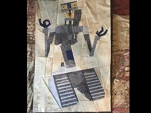 Johnny 5 Robot Foundation Paper Piecing Pattern