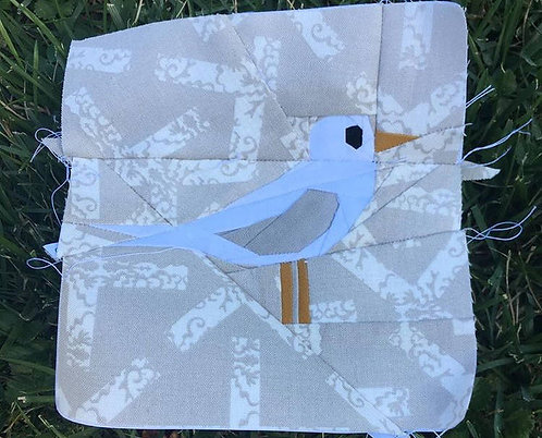 Sea Gull Bird Foundation Paper Piecing Pattern
