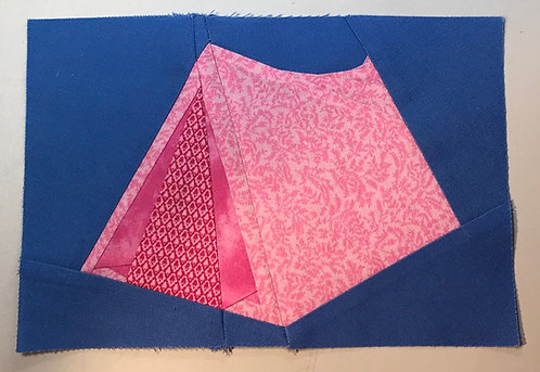 Tent Camping Foundation Paper Piecing Pattern