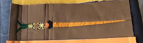 Slughorn's Wand Foundation Paper Piecing Pattern