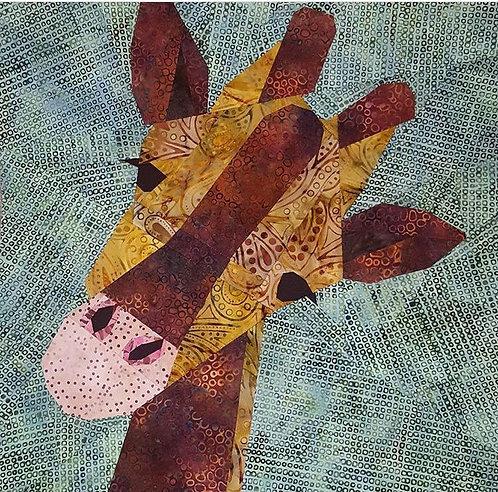Gina the Giraffe Foundation Paper Piecing Pattern