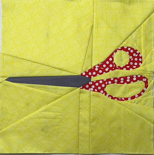 Scissors Foundation Paper Piecing Pattern