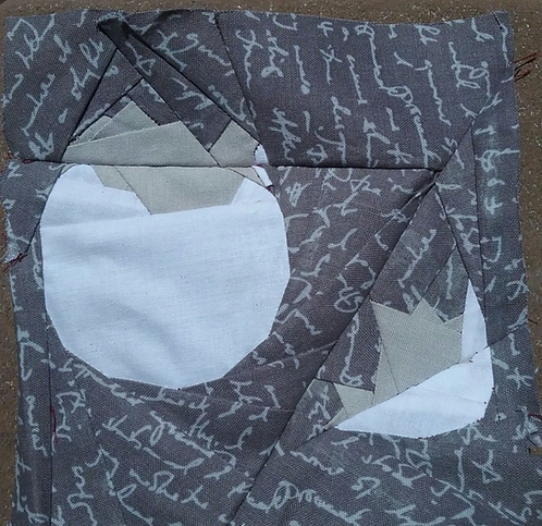 Egg 3 Foundation Paper Piecing Pattern