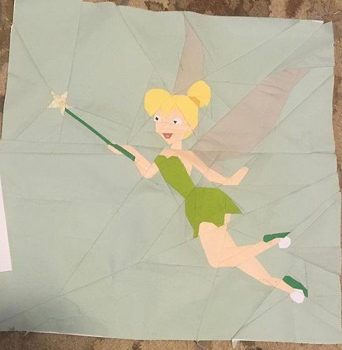 Tinkerbell 1 Disney Foundation Paper Piecing Pattern