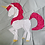 Thumbnail: Unicorn Foundation Paper Piecing Pattern