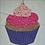 Thumbnail: Cupcake Foundation Paper Piecing Pattern