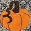 Thumbnail: Pumpkin Halloween Fall Foundation Paper Piecing Pattern