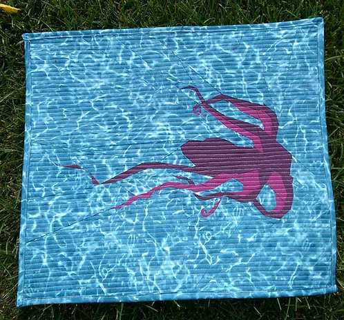 Octopus Foundation Paper Piecing Pattern