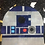 Thumbnail: R2D2 Droid Star Wars Foundation Paper Piecing Pattern