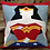 Thumbnail: Wonder Woman Foundation Paper Piecing Pattern