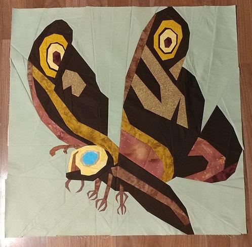 Mothra Foundation Paper Piecing Pattern