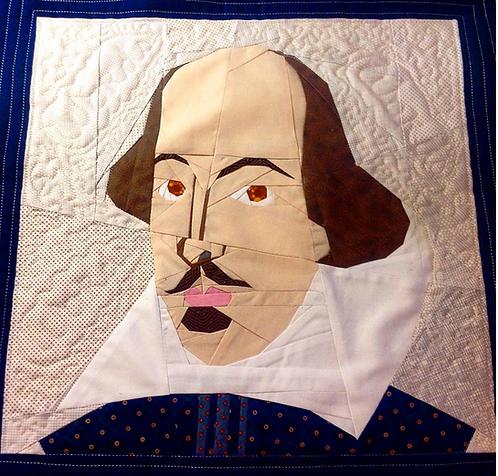William Shakespeare Foundation Paper Piecing Pattern