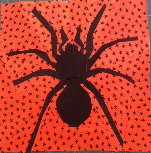 Spider Foundation Paper Piecing Pattern