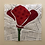 Thumbnail: Poppy Flower Foundation Paper Piecing Pattern