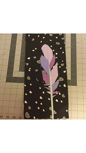 Feather 1 Foundation Paper Piecing Pattern