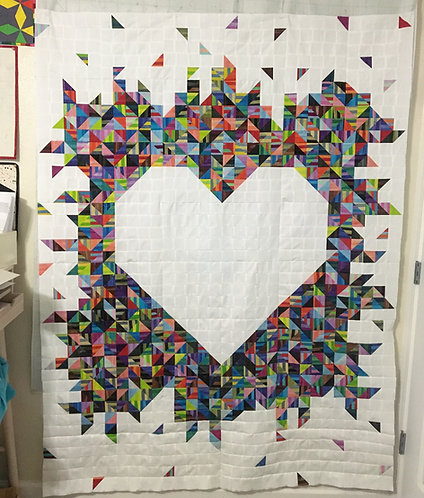 In Pieces of Love Quilt Pattern