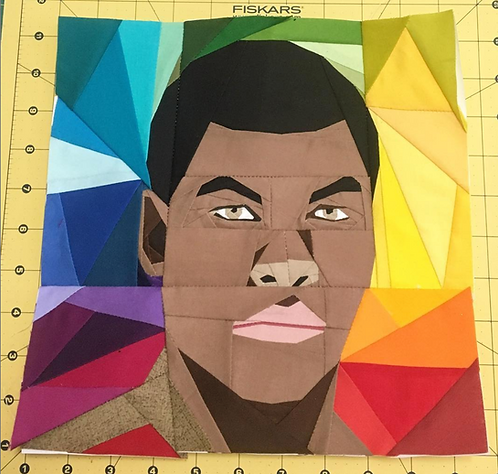 Finn Star Wars Foundation Paper Piecing Pattern